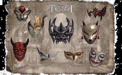 TERA Masks by Tiffli