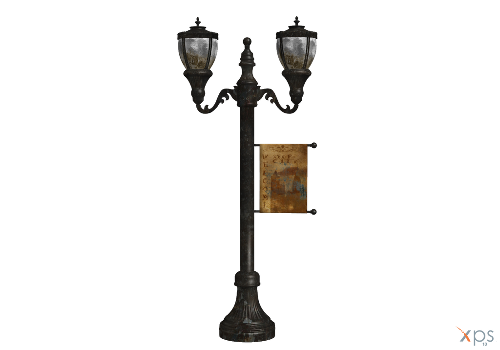 Antique street lamp by LuxXeon by Tiffli on DeviantArt