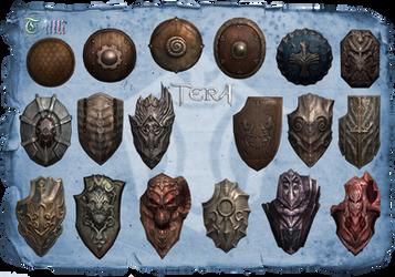 TERA - Lancer Shield pack1 by Tiffli
