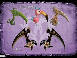 TERA - Reaper scythe pack1