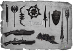 TERA - event - Assassin weapons skins