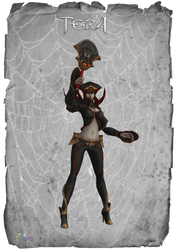 TERA Chaos Witch Master by Tiffli
