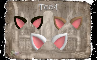 TERA - Triple Kitty Ears by Tiffli