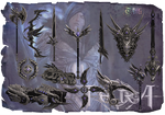 TERA Elleon weapon skins