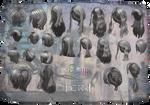 TERA HighElfFemale Hair by Tiffli