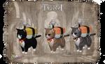 TERA Kitties by MoF