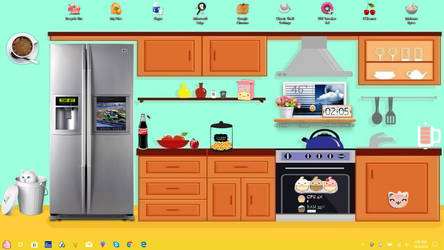 Whats Cooking? Desktop by Lusciouscherries