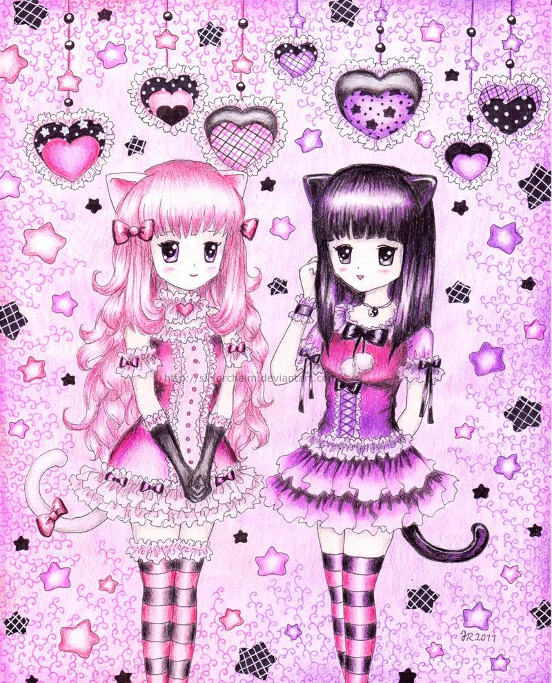 Yuu and Sayuki by SilverChaim