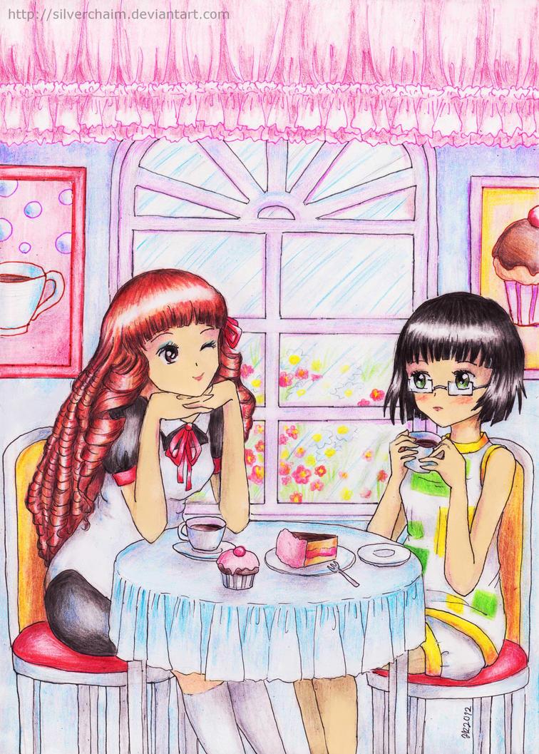 C: Rensei and Riko by SilverChaim