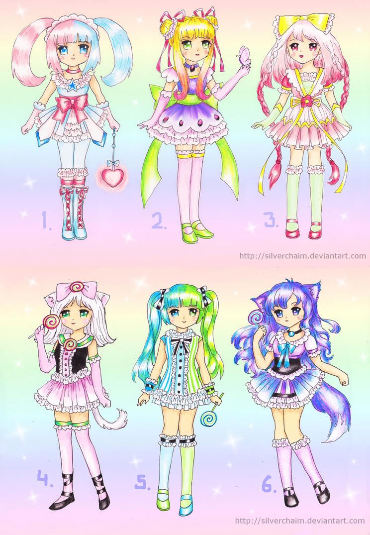 Magical And Loli Adoptables Closed By Silverchaim On