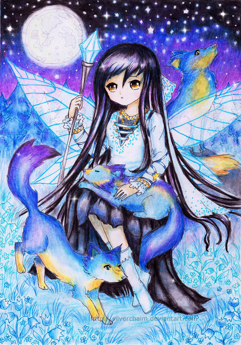 Fairy Witch by SilverChaim