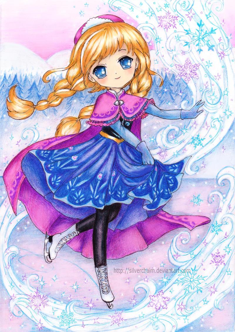 Frozen Anna By Silverchaim On Deviantart