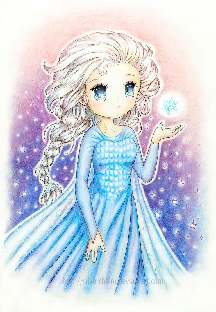 Frozen Elsa by SilverChaim on DeviantArt