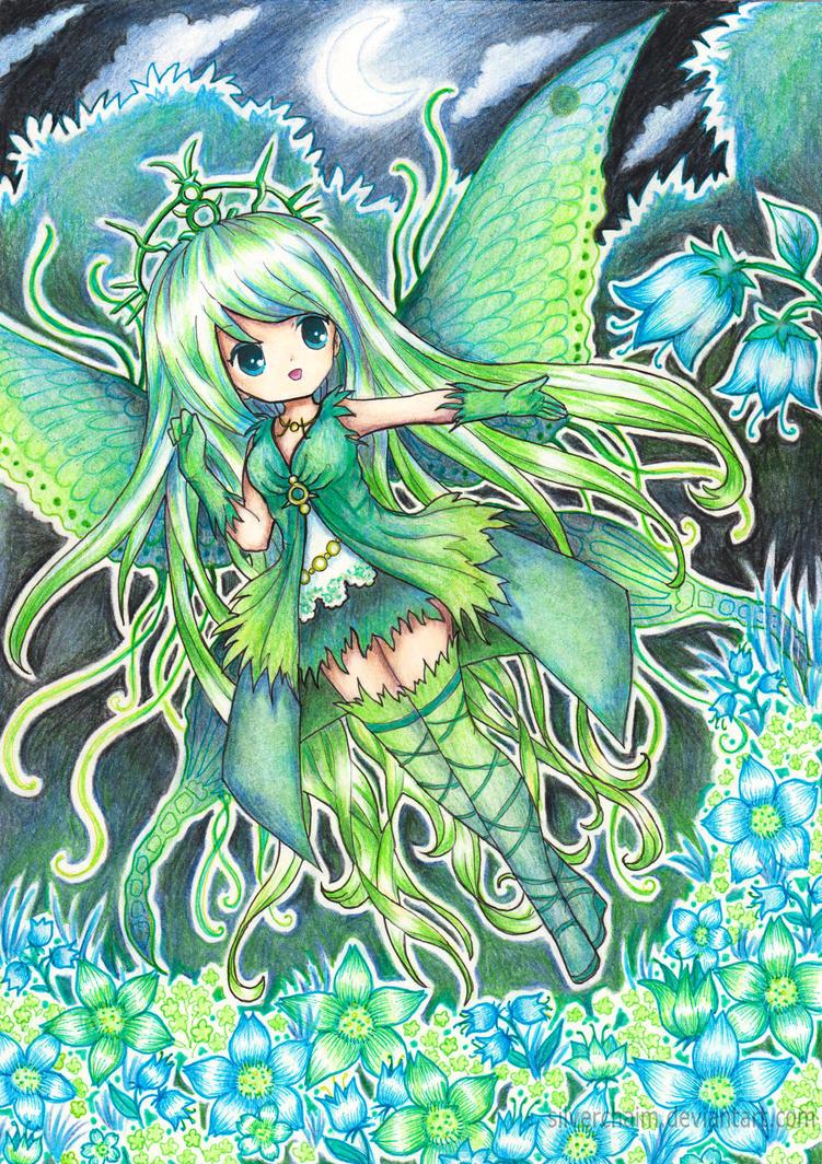C: Moonlight butterfly by SilverChaim