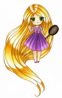 Chibi Rapunzel by SilverChaim