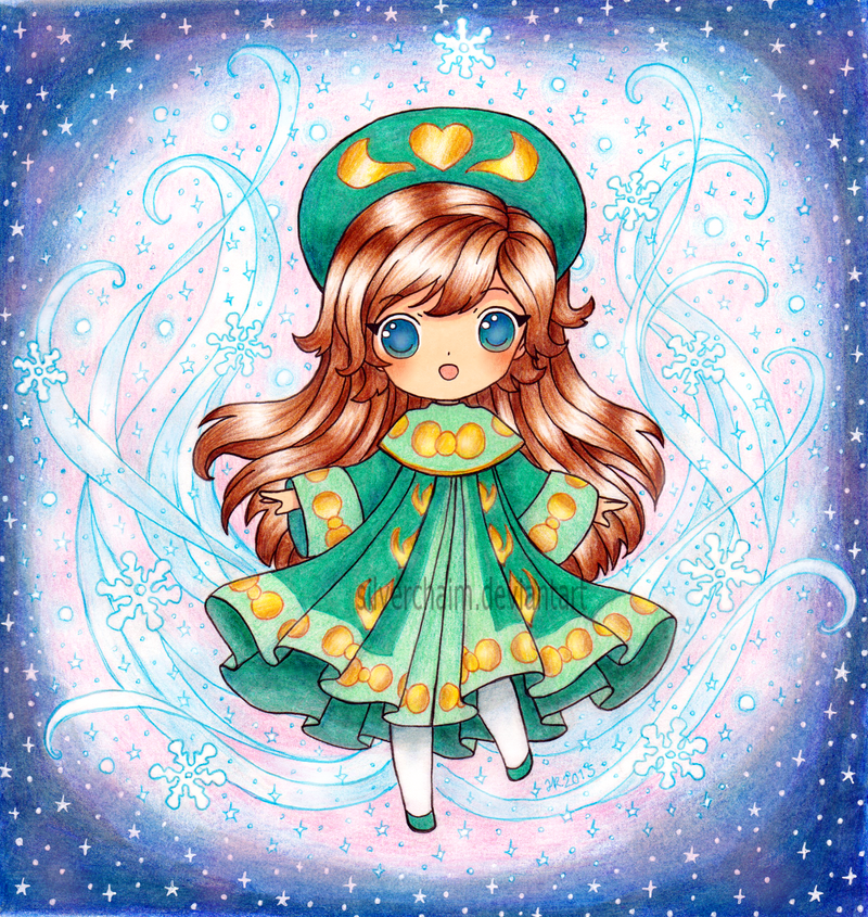 Chibi Anastasia by SilverChaim