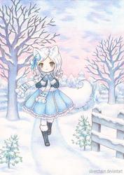 C: Winter fox