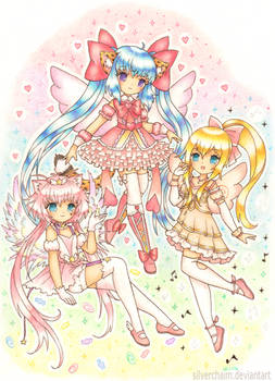 C: Magical Girls