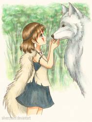 Princess Mononoke by SilverChaim