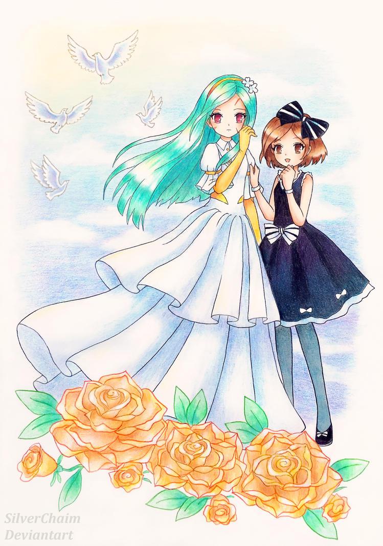 C: Princess Sisters by SilverChaim