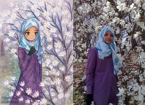 Real to Anime 1: Flower Girl