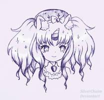 Miranda sketch by SilverChaim