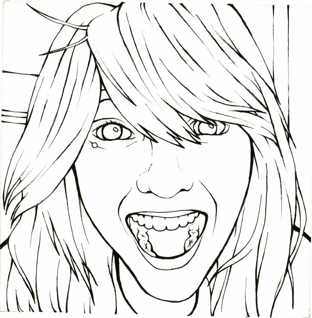 Line Art People : Contour profile by maidenoftheblade on deviantart