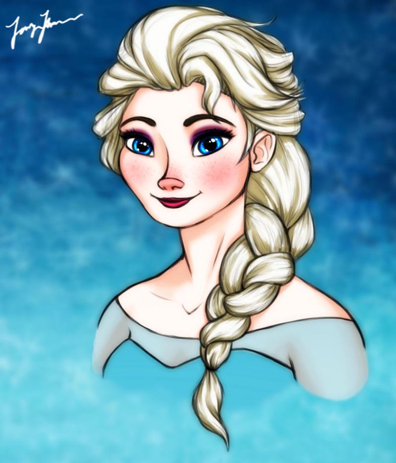 Elsa by MaidenOfTheBlade