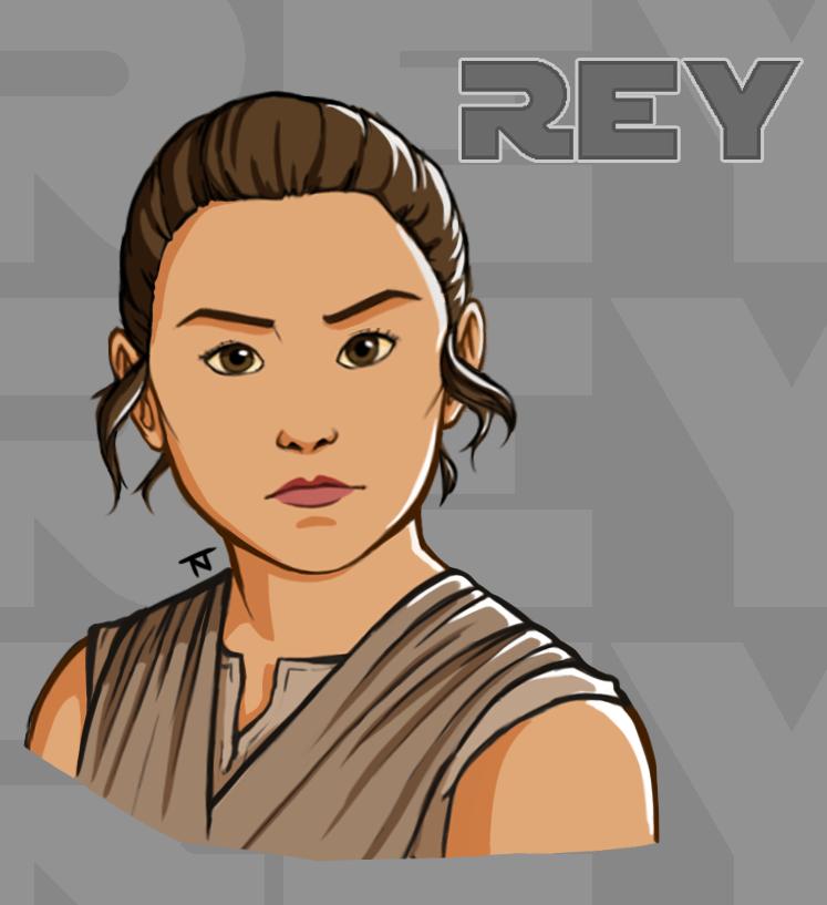 Rey by MaidenOfTheBlade