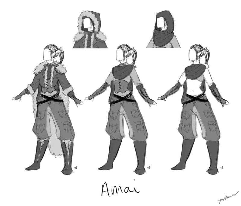 Amai Clothing Ref by MaidenOfTheBlade