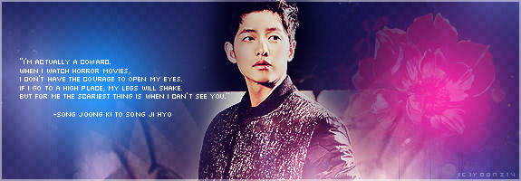 Song Joong Ki for Song Ji Hyo by Yoonz14