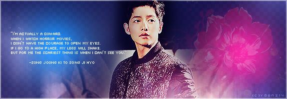 Song Joong Ki for Song Ji Hyo by Yoonz14