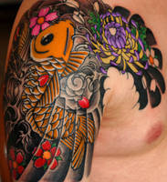 Japanese tattoo -in progressII by Perpetuum-Mobile