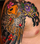 Japanese tattoo -in progressII