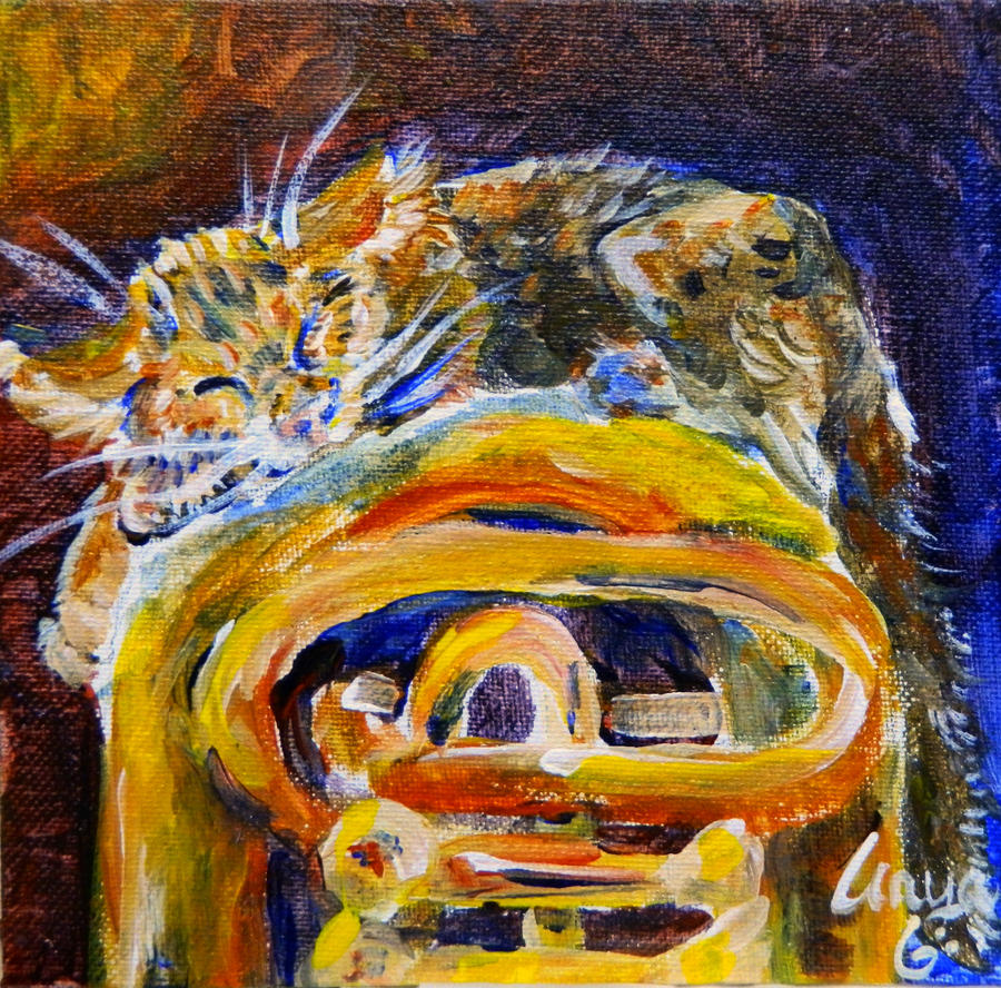 Tuba Kitten by milleniumocarina