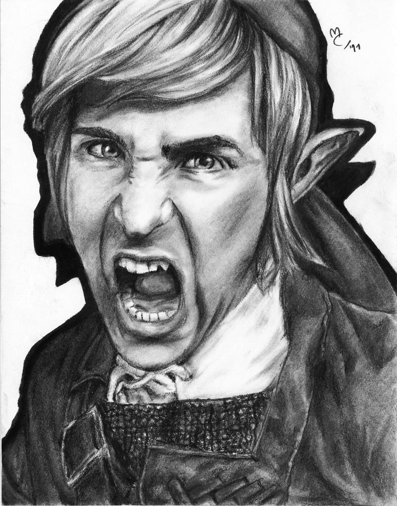 Drawing Ian Hecox -Smosh- as Link by Jennax3