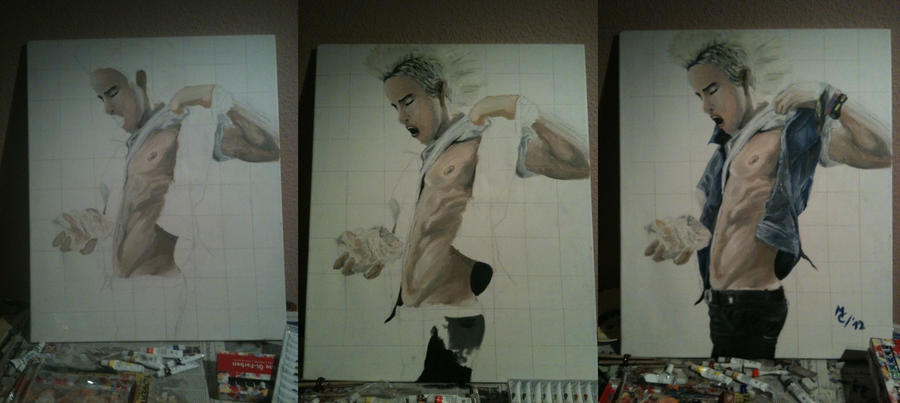 Jared Leto - Ice Progress by Jennax3