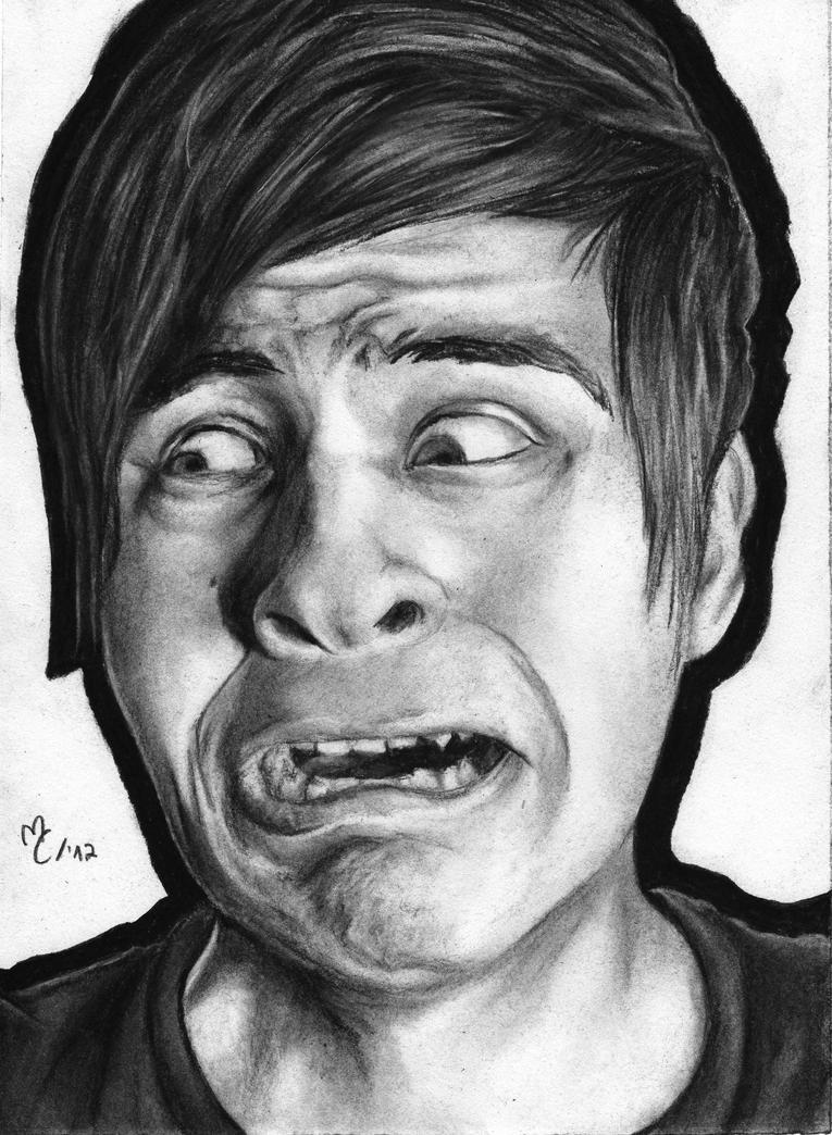 Drawing Anthony Padilla -Smosh- by Jennax3