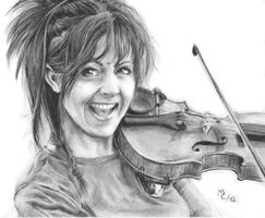 Drawing Lindsey Stirling by Jennax3