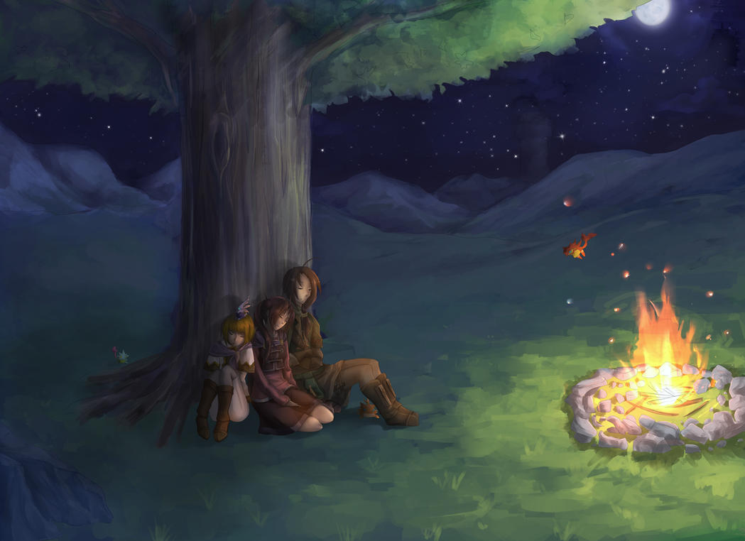 Camping by Jennax3