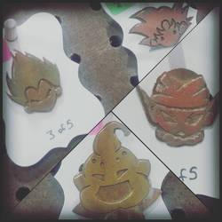 Dragon Ball Brooches
