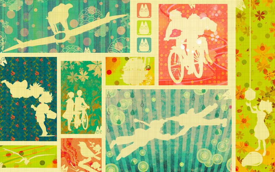 Studio ghibli wallpaper by sbi96 on deviantart studio ghibli wallpaper by sbi96 voltagebd Images