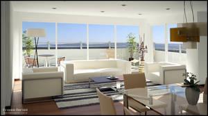 3D Living - Dining Room