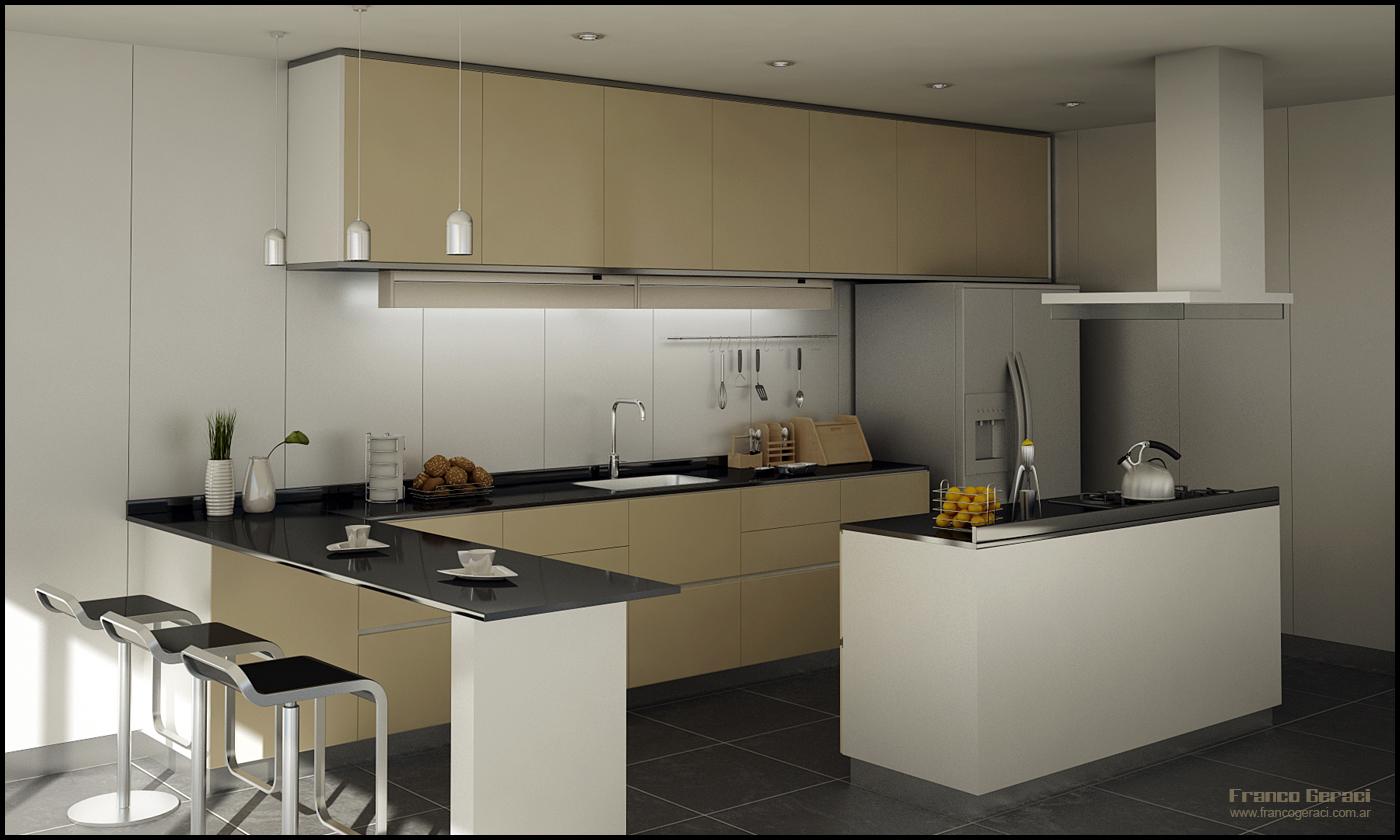 3D Kitchen by FEG