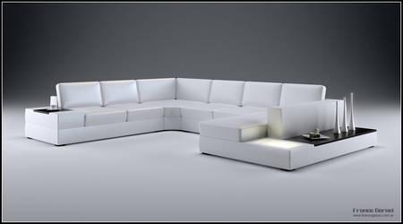 3D Big Sofa Design - 01 by FEG