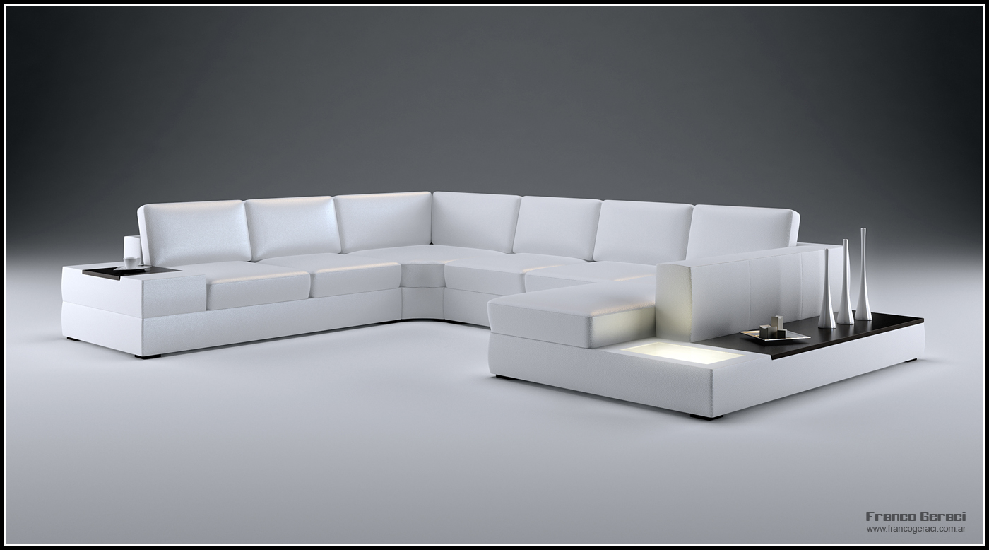 3d big sofa design 01 by feg on deviantart. Black Bedroom Furniture Sets. Home Design Ideas