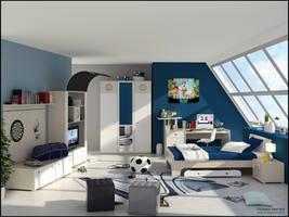 3D Bedroom 8 by FEG