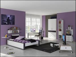 3D Bedroom 9 by FEG