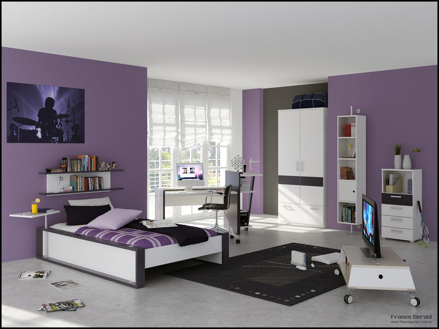 Bedroom Interior 3ds Max Scenes