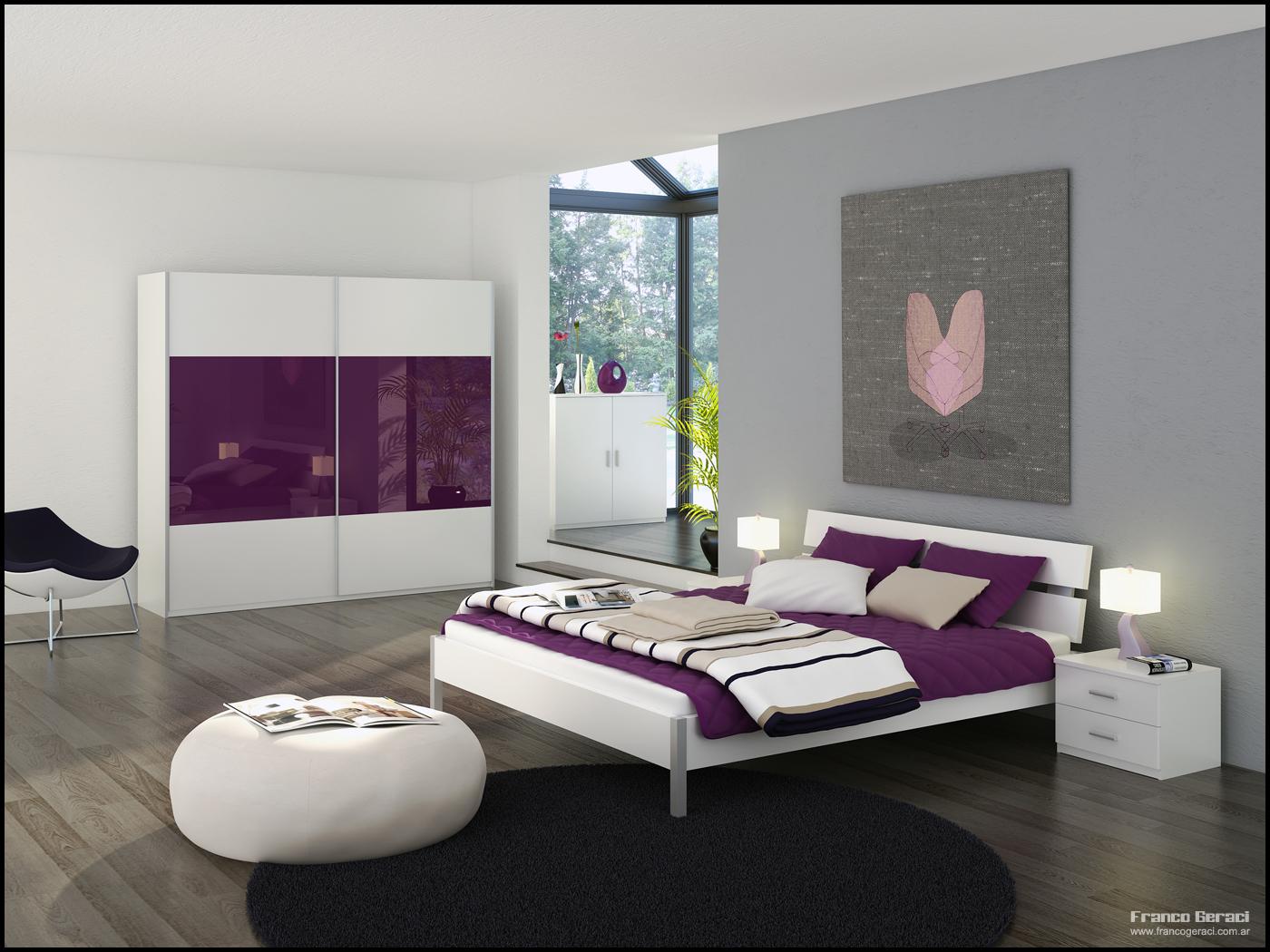 3D Bedroom 12 by FEG. 3D Bedroom by FEG on DeviantArt
